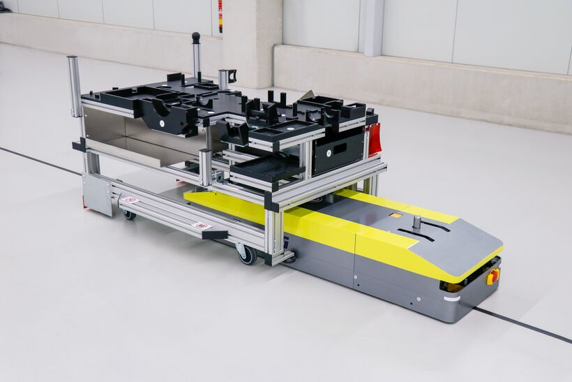 Automated Guided Vehicle Produktbeispiele